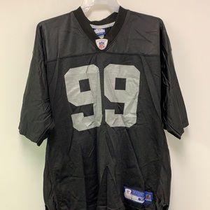 Warren Sapp Blank 99 Oakland Raiders Reebok Jersey